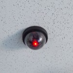 fake dome dummy camera with motion activated light