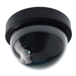 fake dome camera with led light
