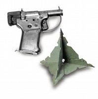 Liberator pistol and Caltrops