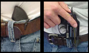 Image of a Jamaican Holster Picture in Pants