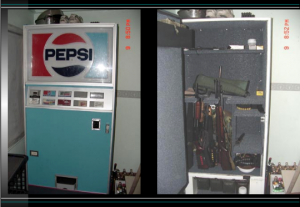 Image of Pepsi Machine Gun Storage