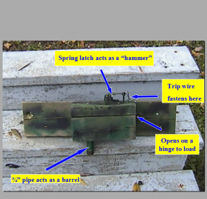 image of shotgun booby trap